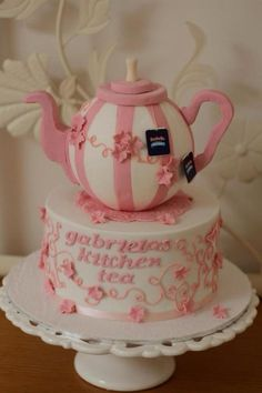 Teapot Kitchen Tea Cake