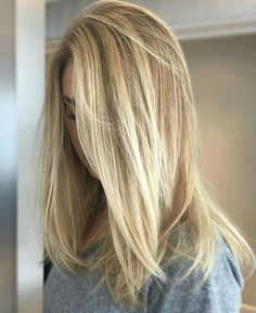 Summer Hairstyles : Brunette Balayage & Hair Highlights Picture Description Try this looks. Summer Hairstyles, Cool Hairstyles, Formal Hairstyles, Long Blonde Hairstyles, Straight Hairstyles, Wedding Hairstyles, Hair Color For Women, Balayage Brunette, Light Blonde Balayage