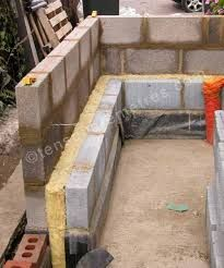 Building the cavity walls in a step by step photographic diary of a DIY self-build house extension 1930s Semi Detached House, Breeze Block Wall, House Extension Plans, Self Build Houses, House Extensions, Building A House, How To Plan, Outdoor Decor, Walls