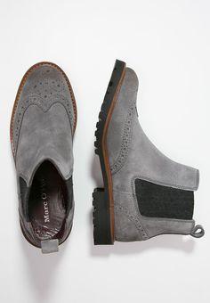 Overknee laarzen van zacht kalfsleder | Laarzen | MARC O'POLO