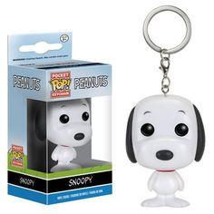 Peanuts Pocket Pop Keychain - Snoopy