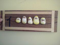 Ptáčci z kamínků