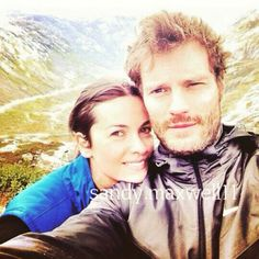 My favorite picture of Amelia and Jamie-a selfie Jamie took ~they are so in love