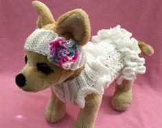 Ropa para mascotas ropa traje elegante vestido sin por 2CROWNS