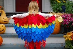 diy parrot costume   parrot costume 2 433