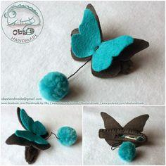 Risultati immagini per  farfalla pannolenci