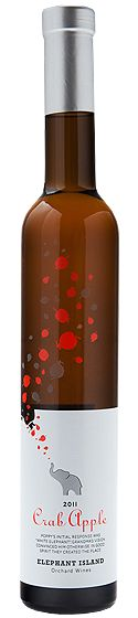 Feeling crabby? This is for you. Crab Apple 2012 wine