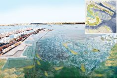 Rising Currents at MoMA: LTL Architects design for NY waterfront