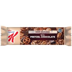 View Salted Pretzel Chocolate Chewy Snack Bar product information via SmartLabel™!