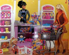 Barbie-TOY-Store-1998-Boite-d-039-origine-jamais-ouverte