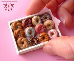 Dollhouse bakery doughnuts.