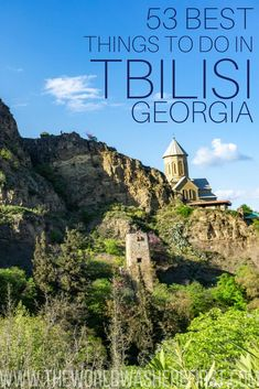 The ultimate guide for the best things to do in Tbilisi, Georgia including day trips, fantastic restaurants and must-see attractions. Stuff To Do, Things To Do, Good Things, National Botanical Gardens, Capital City, Walking Tour, Old Town, Day Trips, Great Places