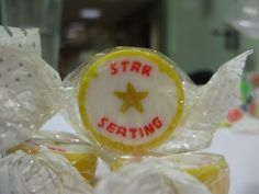 Experts in ready-made and personalised rock sweets, sticks and confectionery for all occasions. Wedding Favours Rock, Confectionery, Sweets, Star, Gallery, Food, Good Stocking Stuffers, Candy, Eten