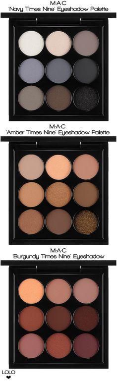 M.A.C. Makeup Palettes |  LOLO❤︎