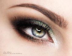 Makijaż: Zielony Kameleon - SNOBKA