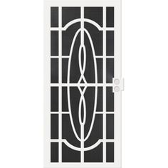 security doors at lowes. Modren Doors First Alert 40036X80 Apollo Designer Steel Security Door 36IN X 80IN  Black  Front Decor Pinterest Security Doors Door And And Doors At Lowes