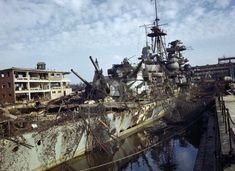 Admiral Hipper cruiser in dry dock Kiel 1945 - Admiral Hipper – Wikipedia