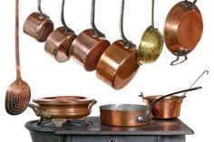 How to Clean Copper Pots & Pans | Stretcher.com - Getting rid of burnt on crud