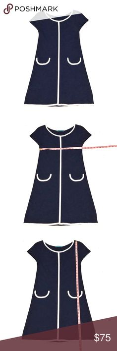 Alice + Olivia   Navy Blue Short Sleeve Dress   2 Alice + Olivia   Navy Blue Short Sleeve Dress   • Size: 2  • Great Condition  • True to Size • No Wear or Damage • Pet/Smoke Free Home  • Viscose Blend • See Photos for Measurements   Let me know if you have any questions and happy shopping! Alice + Olivia Dresses Mini