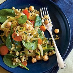 Chickpea Bajane - Cooking with Quinoa: 27 Recipes - Cooking Light