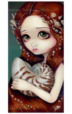 Nautilus Princess  | Art by Jasmine Becket-Griffith
