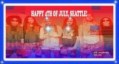All 6 AIC boyz wishing Seattle a Happy 4th of July