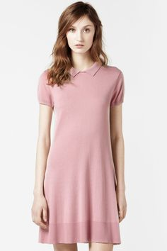 I WANT ONE!  Lacoste Short Sleeve Full Button Down Back Polo Dress : Dresses