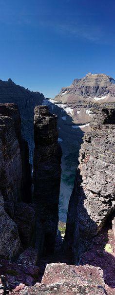 Climbing Oberlin Glacier National Park, Montana
