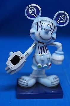 Disney-Mickey-Mouse-Inspearations-EXTENDED-PLAY-6-Resin-Figurine-17819-Retired