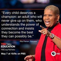 #TedTalksEducation
