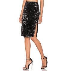LPA Skirt 54 ($195) ❤ liked on Polyvore featuring skirts, white sequin skirt, lpa, velvet skirt, textured skirt and sequin skirt