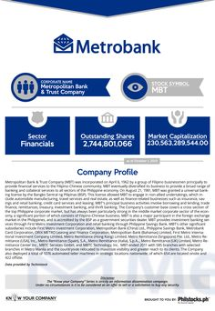 Metropolitan Bank and Trust Company (MBT)