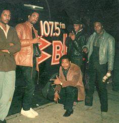 Tyrone Williams, Marley Marl, Mr. Magic (r.i.p.), La Sunshine & Mike C