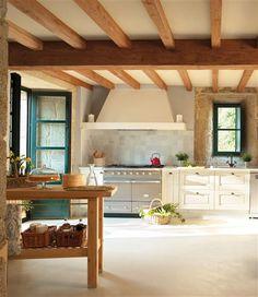 Una casa rústica, mezcla de tradición y modernidad · ElMueble.com · Casas