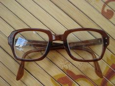 Vintage 1950s Glasses Military Issue BC Nerd by bycinbyhand