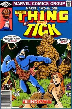Super-Team Family: The Lost Issues!: The Thing and The Tick