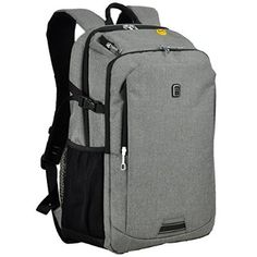 Koolerpack Waterproof Business Backpack for Laptop Up to 17 inch Grey