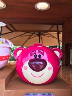 NEW Shanghai Disney Exclusive Lotso Bear Toy Story Popcorn Bucket
