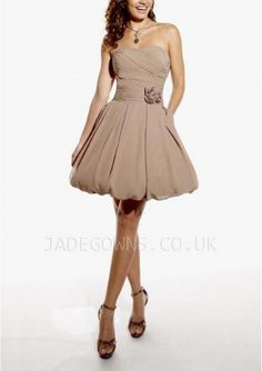 Short Champagne Stunning Party Dresses 6102128 - 6102128 - Bridesmaid Dresses