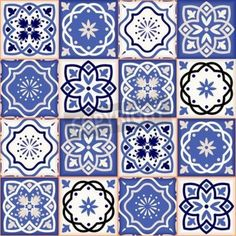 Gorgeous seamless patchwork pattern from colorful Moroccan tiles, ornaments. Can be used for wallpaper, pattern fills, web page background,surface textures. Turkish Tiles, Portuguese Tiles, Moroccan Tiles, Patchwork Patterns, Tile Patterns, Motif Floral, Tile Art, Islamic Art, Pattern Wallpaper