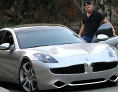 Fisker Automotive and Leonardo DiCaprio talk up the new Electric Vehicle