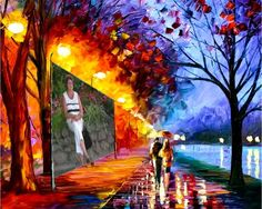 World Famous Paintings Fine Art Painting Wallpaper S4 Wallpaper, Painting Wallpaper, Love Painting, Oil Painting On Canvas, Rain Painting, Couple Painting, Street Painting, Autumn Painting, Umbrella Painting