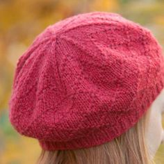 Free Knitting Pattern - Hats: Kumara Diamond Cap
