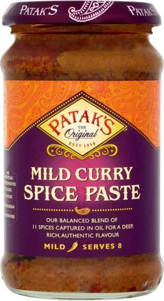 Pataks Mild Curry Paste | British Food Depot | USA Based