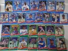 1991 Donruss Series 1 & 2 Texas Rangers Team Set of 29 Baseball Cards #TexasRangers