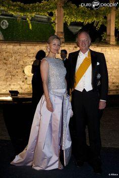 Princess Katharina Nina von Hohenzollern and Karl Friedrich, Prince of Hohenzollern