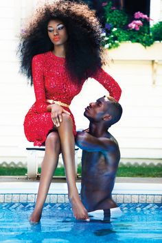 purplelimits:    (via Miranda and Adonis Pop in Colorful Style for Dress to Kill's Winter Issue by Jorge Camarotti)