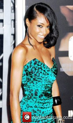 Yaya DaCosta NYC movie premiere of 'For Colored girls '