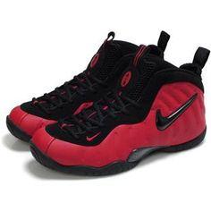 Nike Air Foamposite Red/Black