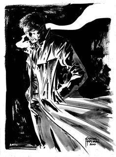John Constantine - Hellblazer by Gabriel Hardman Constantine Comic, Matt Ryan Constantine, Constantine Hellblazer, Vertigo Comics, Comic Layout, World Of Darkness, Dc Heroes, Comic Character, Character Design